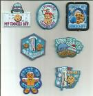 Girl Boy Scout Guides Patch Crest Badge I FROZE MY COOKIES OFF your choice