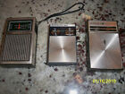 AM vhf radio lot Federal, Realistic jetstream mini, Motorola eight transistor