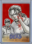 2013 Cryptozoic The Walking Dead Comic Trading Cards Set 2 23
