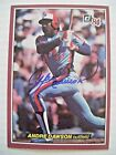 Andre Dawson Cards, Rookie Card and Autographed Memorabilia Guide 3