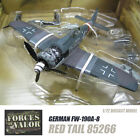 GERMAN FW 190A 8 Red Tail 85266 1 72 diecast plane model aircraft FOV