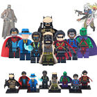 Black Lightning Minifigure The Question Red Robin Figures Collection Bricks Toys