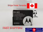ORIGINAL BX40 BATTERY FOR MOTOROLA Z9 ZINE ZN5 i9 Stature RAZR2 V8 V9 V9m V9x U9