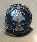 STS 95 FLIGHT CREW PIN JOHN GLENNS SPACE SHUTTLE MISSION