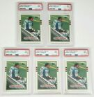 (5) 1989 TOPPS TRADED BARRY SANDERS RC #83T PSA 9 MINT LIONS HOF NEW PSA LABEL