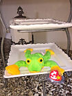 NWT Retired TY Collection 1997 'Smoochy the Frog' Beanie Baby DOB October 1, '97