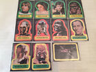1977 Topps Star Wars Trading Cards Series 1 - Complete Set of 11 Stickers