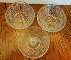 3 PC LOT FEDERAL HERITAGE DESSERT BERRY BOWLS 1940-1955