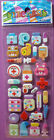 NEW FIRST AID MEDICAL FUN Puffy STICKERS Bandage Thermometer Teddy Bear