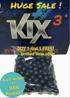 Kix Paintballs Bag of 500 Rounds Pearl Blue with Yellow Fill BUY 1 GET 1 FREE