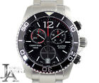 Certina 1888 DS-ACTION Chronograph Date Black Dial Men's Watch From Japan[b0330]