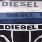 DIESEL Mens Cotton Brief Underwear Blue White XL (MSRP $28)