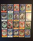 1972 SUNOCO FOOTBALL STAMPS - LOT OF 20 - ALL HOF