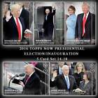 2016 Topps Now Election Trading Cards - 2017 Inauguration Update 11
