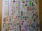 Lot of 58 Sheets  Strips of Creative Memories Scrapbooking Stickers