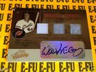 2005 Absolute WILLIE McCOVEY Autograph Triple Game Used Jersey #ed 9 10 AUTO EX