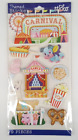 Sticko Carnival Themed 3D Scrapbook Stickers