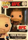 FUNKO POP UFC CONOR McGREGOR #01 WHITE SHORTS UFC EXCLUSIVE FIGURE In Stock