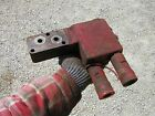 Farmall 460 560 Tractor IH hydraulic valve port block with quick connects