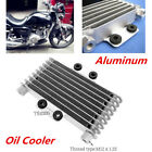 Aluminum Oil Cooler Oil Engine Radiator Fit for 125CC 250CC Motorcycle Dirt Bike