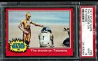 1977 Topps Star Wars Red Series 2 #96 THE DROIDS ON TATOOINE PSA 9 MINT !