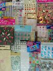 Huge Lot 10 Packs Gemstones Self Adhesive Rhinestone Stickers Scrapbooking New