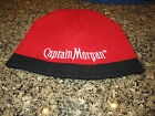 Captain Morgan Rum Beanie Hat - Red/Black - One Size