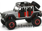 2015 JEEP WRANGLER UNLIMITED OFF ROAD KINGS 124 DIECAST BY MAISTO 32523 GREY