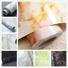 US Granite Marble Decal Decor PVC Self Adhesive Wall Sticker Contact Paper Peel