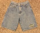 VINTAGE Seor Frogs Mazatlan Mexico Embroidered Blue Jean Shorts Mens Size 30