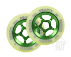 NEW PROTO Wheels 110mm Slider Green Scooter Freestyle Bearings Push Wheels