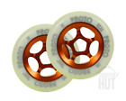 NEW PROTO Wheels 110mm Slider Orange Scooter Freestyle Bearings Push Wheels