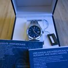Maurice Lacroix Aikon Automatic Blue Dial with Box, Tags, Warranty Card
