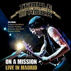 Michael Schenker's Temple of Rock - On A Mission: Live In Madrid (2 Disc) CD NEW