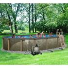 Oval 54 Tall Salt Friendly Above Ground Swimming Pool Kit Free Shipping