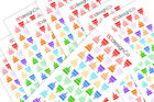 66 Birthday Cake Stickers for All Types of Planners