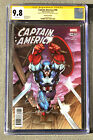 CGC 9.8 SS Jim Lee Captain America # 700 1:500 Remastered color Variant RARE 268