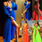 US STOCK Women Swimwear Bikini Cover Up Beach Maxi Wrap Skirt Sarong Pareo Dress