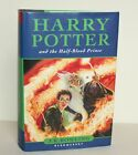 Harry Potter and the Half Blood Prince by J K Rowling Hardback FIRST EDITION
