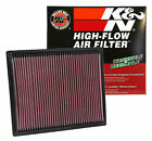 K&N 33-2286 Drop In Air Filter 2004-2019 QX56 Armada Frontier NV1500 NV2500 NV35