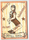 Gamel Girl 2013 Viceroy Carnival Artist Sketch Card by Joshua Werner 1 1