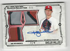 Shelby Miller 2015 Topps Museum Collection Triple Jersey Autograph Card Auto 5 5