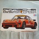 Tamiya 1/12 scale Porsche Turbo RSR Type 934 unassembled very rare from japan 3K
