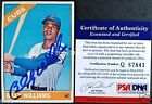 Billy Williams Cards, Rookie Card and Autographed Memorabilia Guide 32