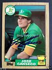 Jose Canseco Cards, Rookie Cards and Autographed Memorabilia Guide 49