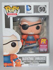FUNKO POP SDCC DC COMICS UNMASKED DEATHSTROKE #50 LE EXCLUSIVE Figure IN STOCK