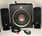 ACOUSTIC AUTHORITY A 3780RB BLACK 21 180Watt Pro Series Sobwoofer Satellite Sys