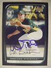 WES BANKSTON signed RC A's 2008 Bowman Draft baseball card AUTO Autographed BDP8