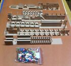 5 HO SCALE INTERIORS AND 100 FIGURES FOR ATHEARN STREAMLINED PASSENGER CARS
