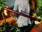 NATIVE AMERICAN STYLE FLUTE G MAHOGANY PRO TUNED IN G 440 hz REG 225 NEW